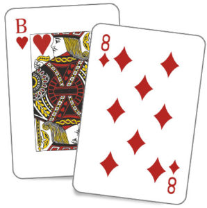 Простые гадания на 36 картах на любовь