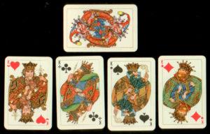 Гадание на игральных картах «Три карты»