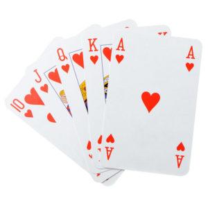 Гадание на месяц на игральных картах