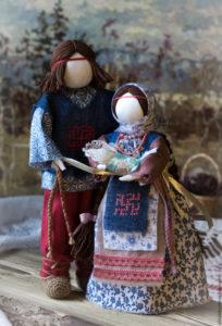 Как изготовить куклу-оберег своими руками из ткани