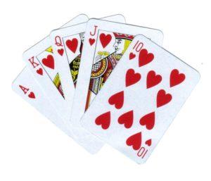 Гадание на игральных картах «10 карт»